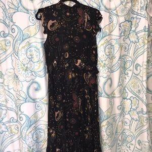 Zara constellation dress